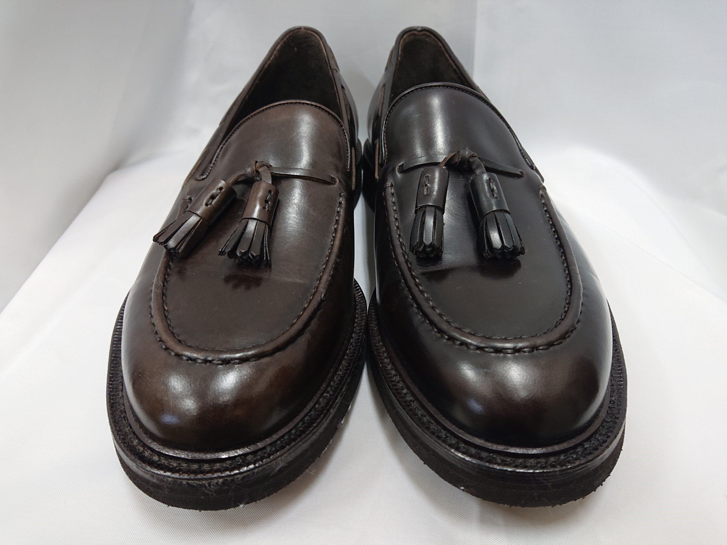 革靴 カラー調整 ブラウン【大阪・豊中】